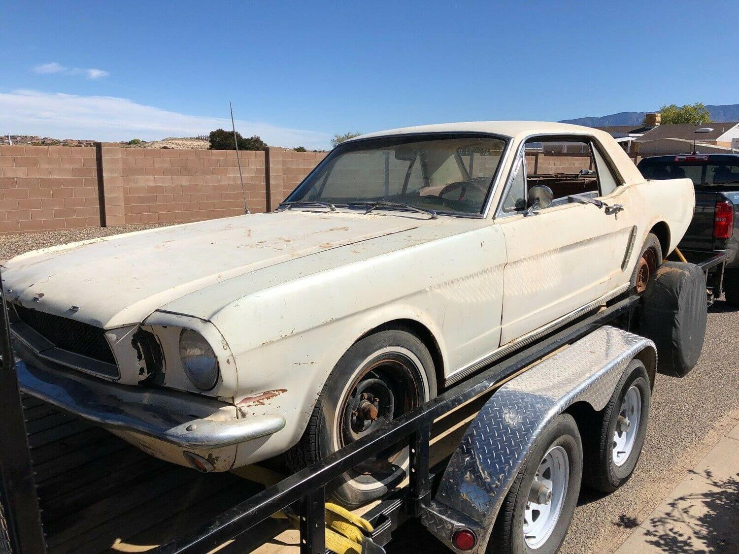 Ford Mustang 1965 Code-D