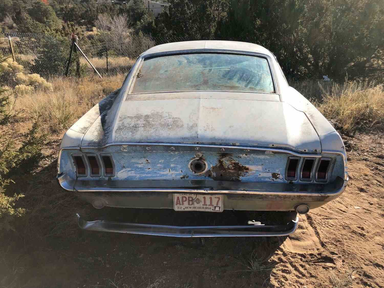 Ford Mustang Fastback 1968 Code-T