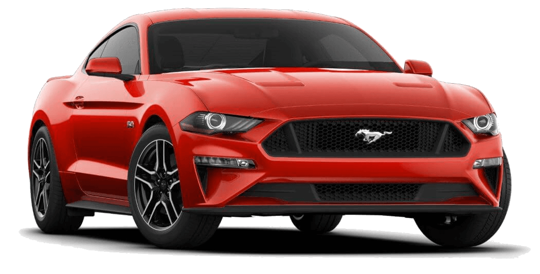 2020 MUSTANG Race Red