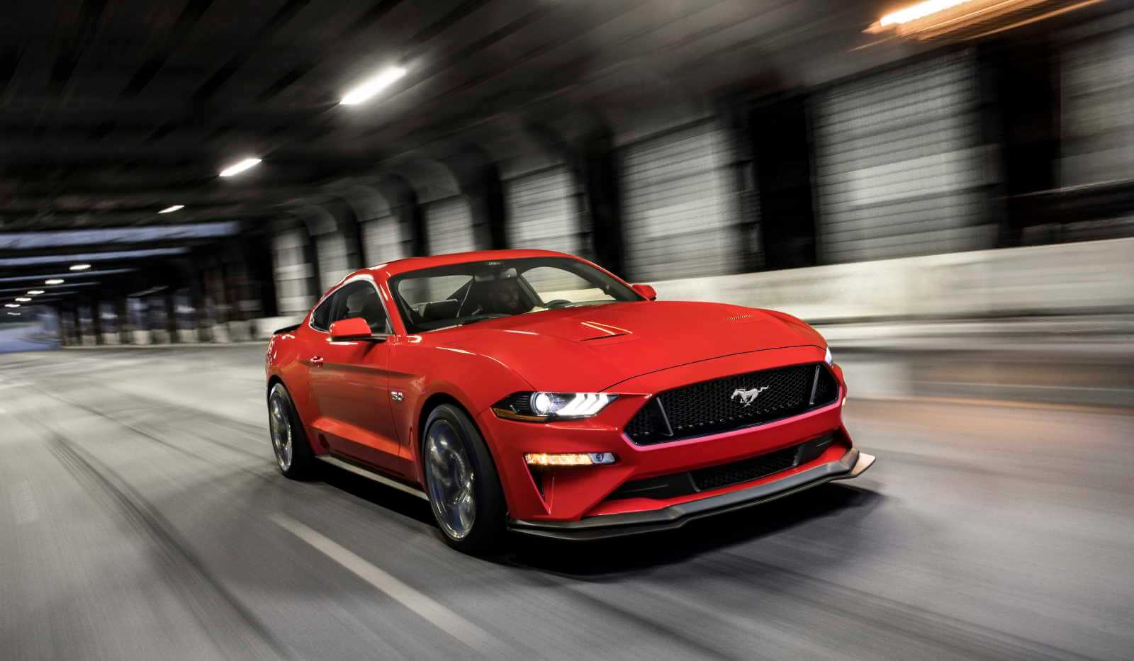 2019 Ford Mustang Fastback Race Red