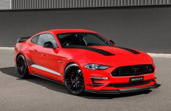 Mustang Scott McLaughlin Limited Edition SM17