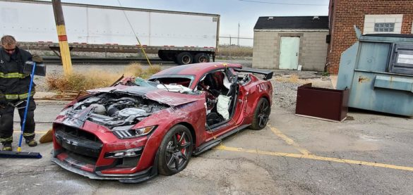 Shelby GT500 - Dearborn Fire Department