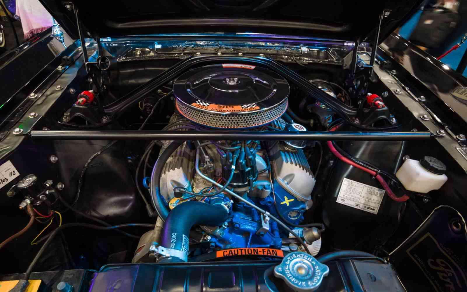 engine code mustang