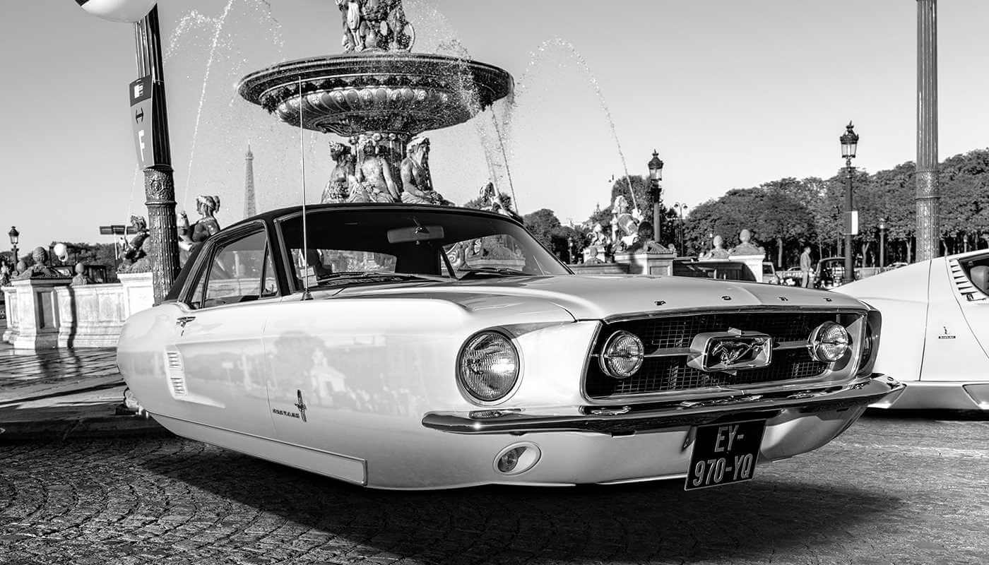 FlyingCar - Ford Mustang