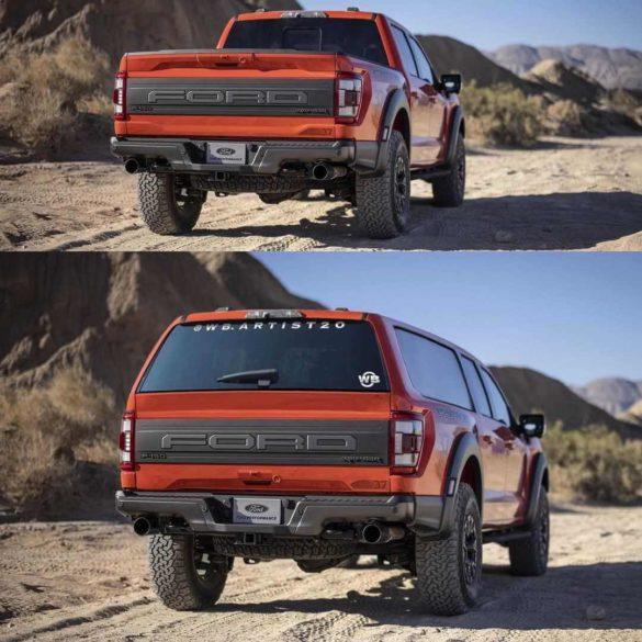 Ford F-150 Raptor SUV
