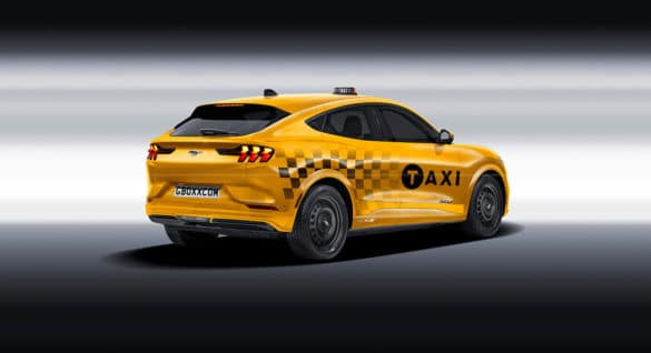2020 Mustang Mach-E Taxi