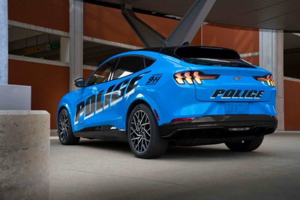 All-Electric Police Pilot Vehicle