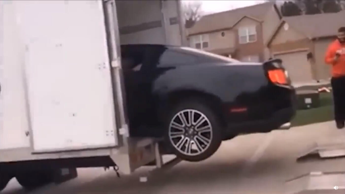 Ford Mustang Accident